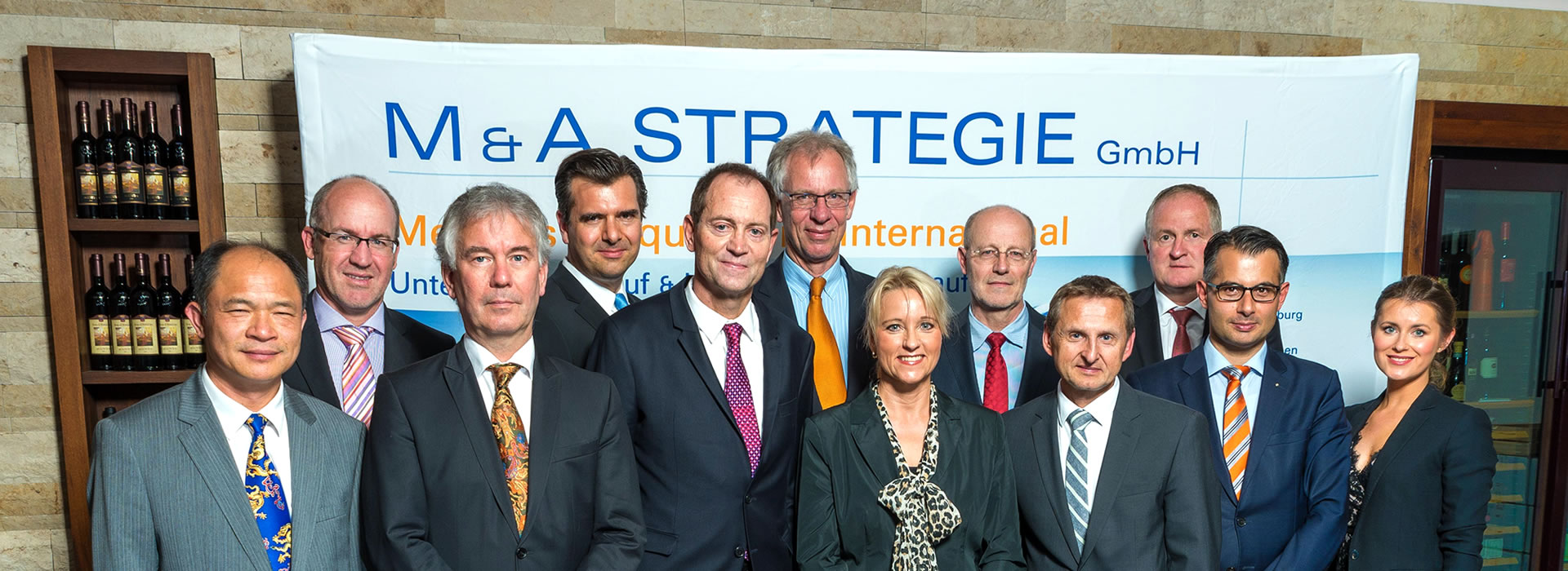 Consultants of M & A Strategie GmbH for Pre M & A and Post Merger Integration